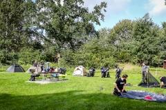 Campingplatz Zabakuck Aufbau