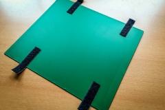 DIY Alukoffer Trennwand Klettband