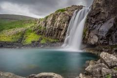 Wasserfall Bildudalsvegur