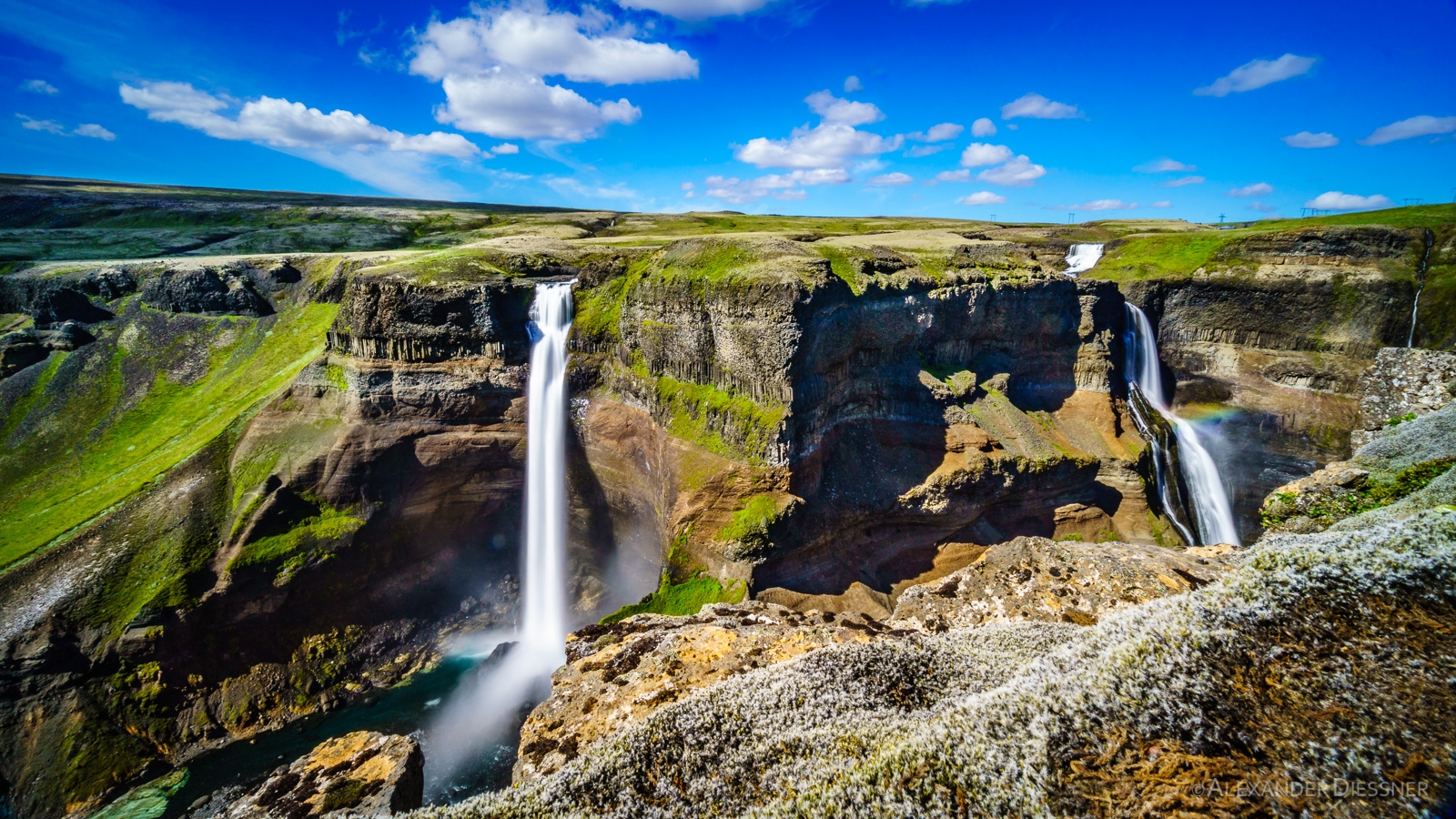 Wasserfall Haifoss