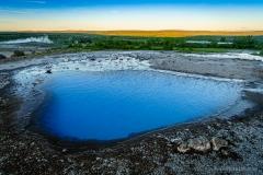 Geysir Heiße Quelle