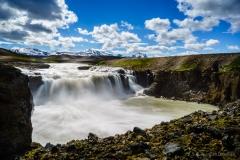 Wasserfall Gygjarfoss
