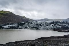 Solheimajoekull Gletscherzunge