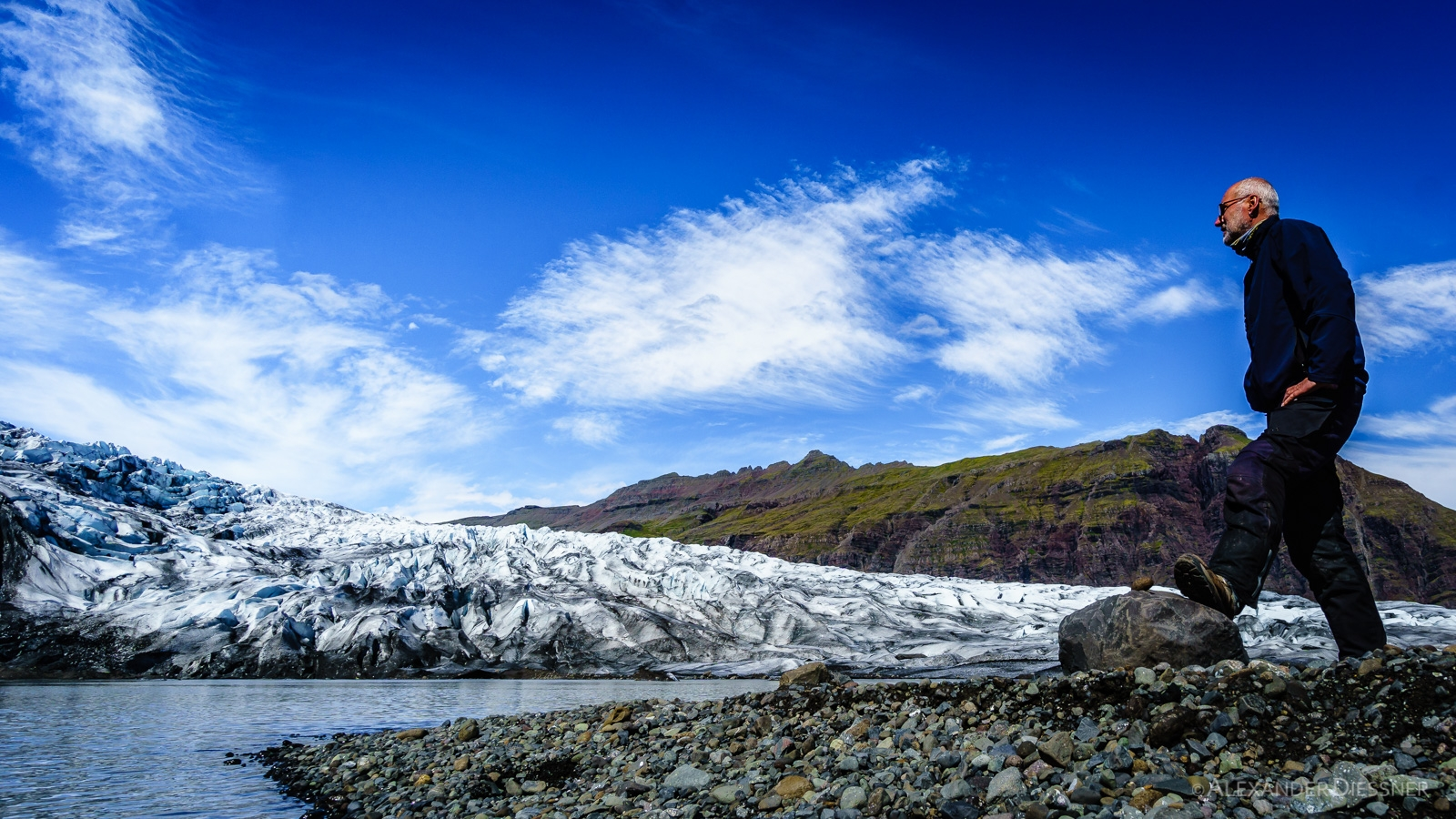 Gletzerzunge Flaajökull