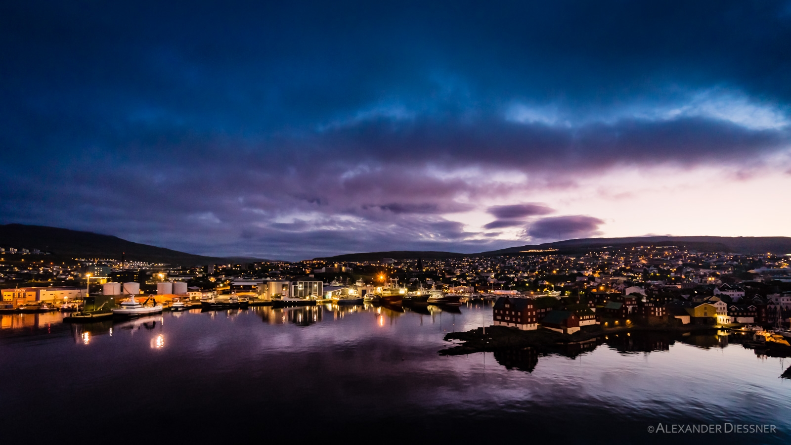 Torshavn Sonnenuntergang
