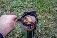Jarplund Camping-Abendessen