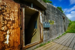 Bunkermuseum Hirtshals Eingang