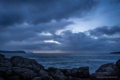 Färöer bei Nacht